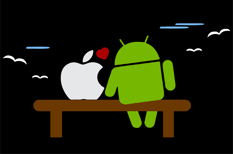 ios or android انتخاب با شما