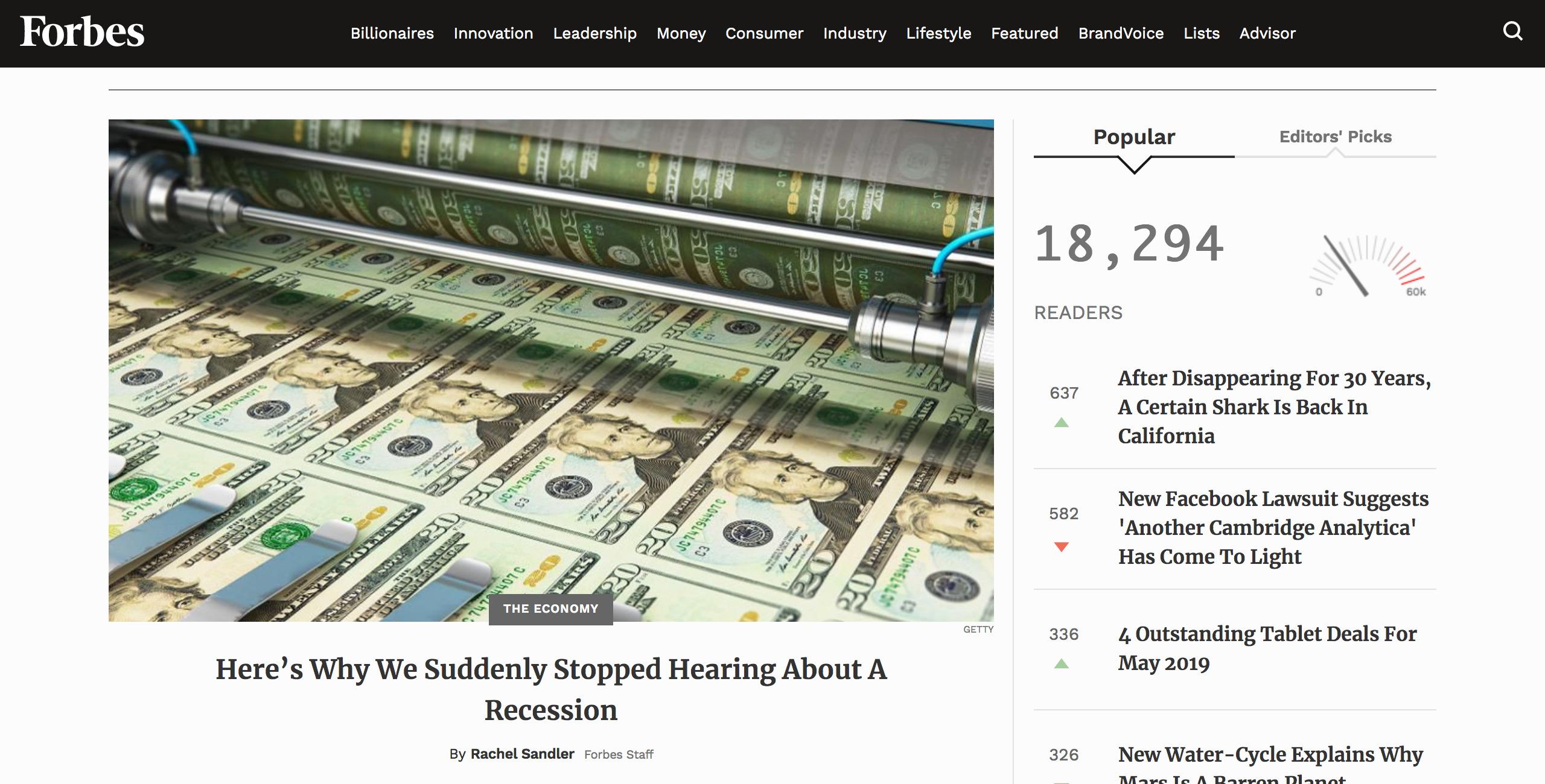 سایت اینترنتی فوربس