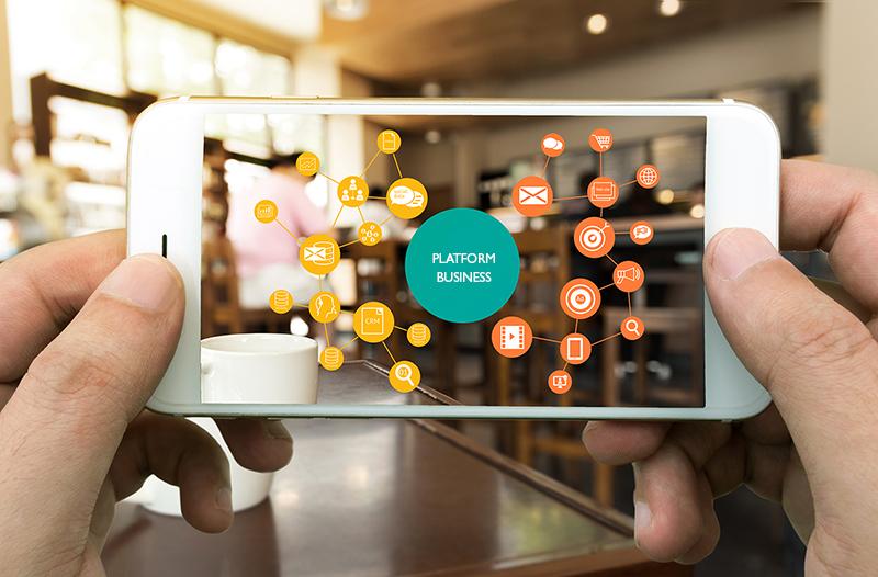 کسب و کار پلتفرمی راهکاری برای جایگزین کردن ارتباطات به جای دارایی های سیستم