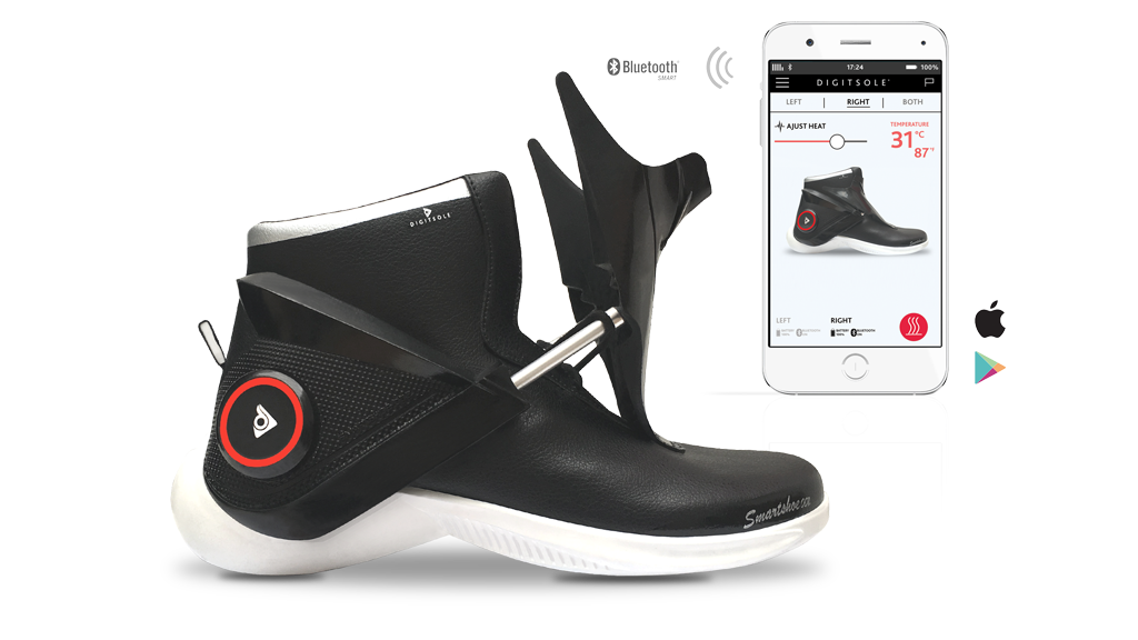 گجت پوشیدنی کفش های دوندگی و اپلیکیشن اختصاصی