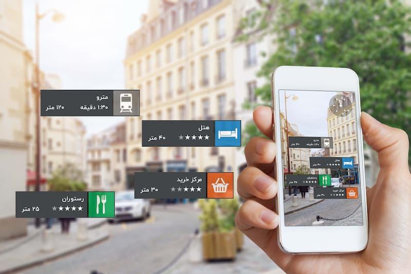 کاربردهای استفاده از واقعیت افزوده در پلتفرم های هوشمند فروشگاهی