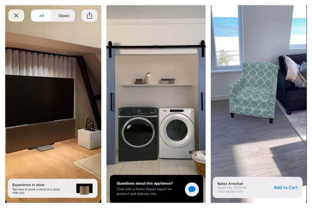 معرفی اپلیکیشن هوم دپو جهت استفاده از واقعیت افزوده در پلتفرم هوشمند فروشگاهی